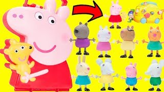 Peppa Pig Surprise Box Carry Case with George Playground Adventure