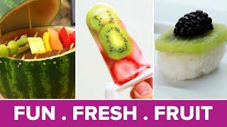 Creative Ways To Serve Fruit