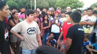 batalla de rap - mc yampi y callejas vs asesino de versos y el beniano...