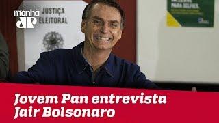 Segundo turno - Eleições 2018: Jovem Pan entrevista Jair Bolsonaro (PSL)