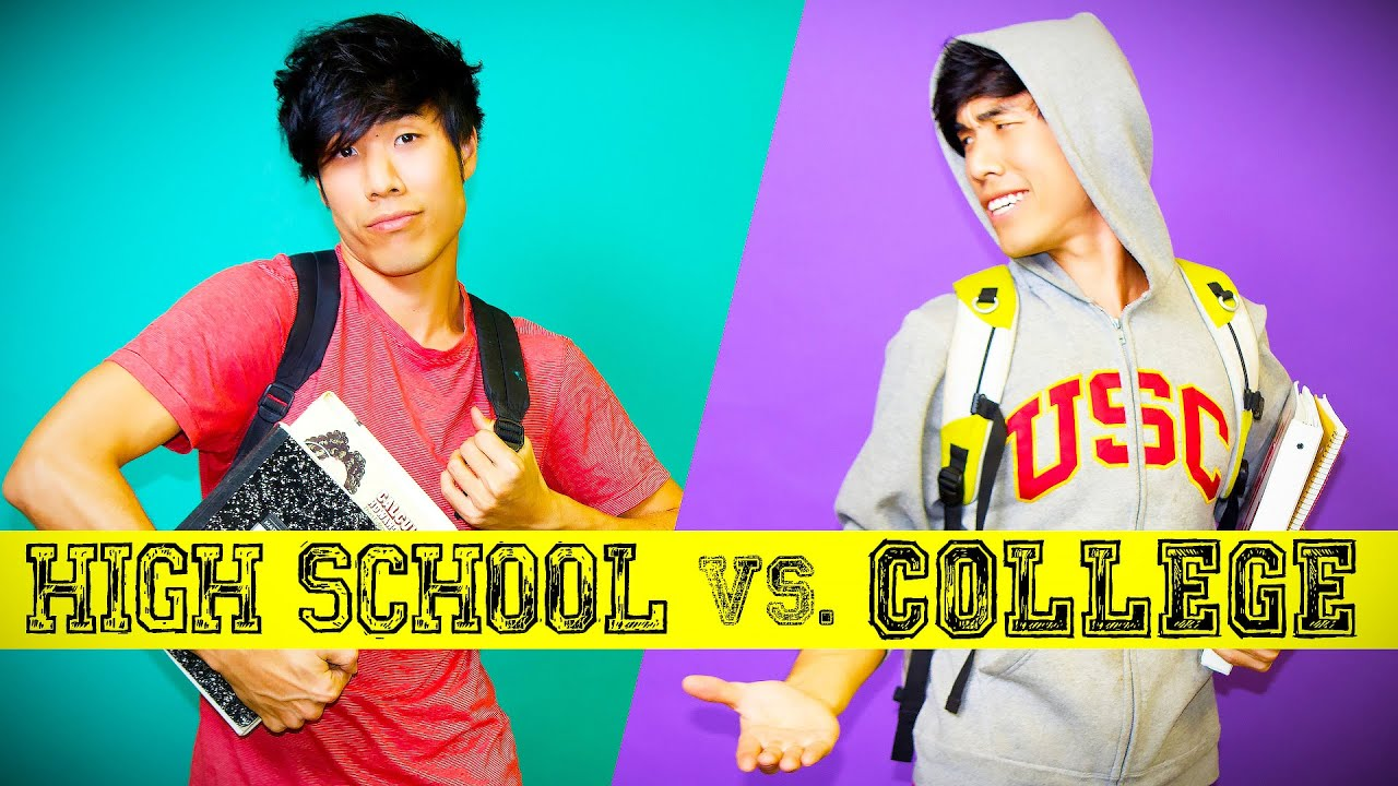 High School You Vs. College You - YouTube