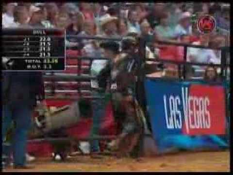 Tulsa: JB Mauney's 3rd round ride from Tulsa on Doubledown Video