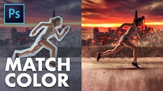 How to Match Color and Light in Photoshop! (3-STEP PROCESS)
