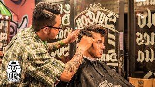 Jelly Roll - Kiểu tóc kinh điển của vua nhạc Rock Elvis Presley ✂ Liem Barber Shop's collection