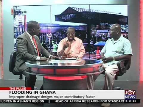 Flooding in Ghana - The Pulse on Joy News (14-6-16)