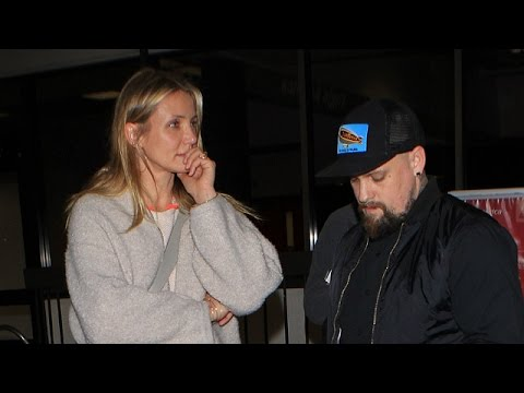 X17 EXCLUSIVE: Benji Madden Is A Protective Husband To Wife Cameron Diaz As They Return To LA