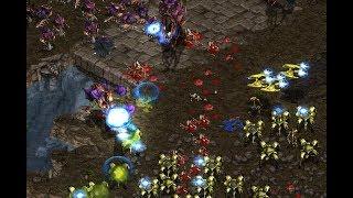 Hero (Z) v Shuttle (P) on Fighting Spirit- StarCraft  - Brood War REMASTERED