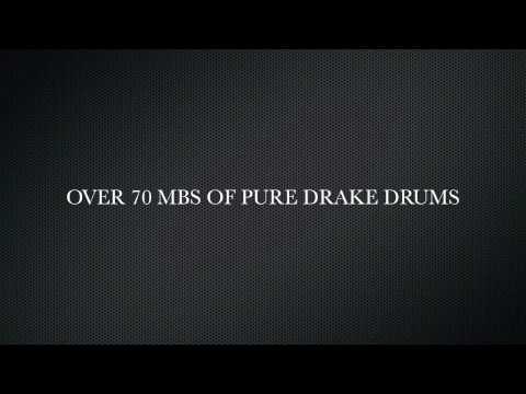 DRAKE SAMPLE DRUM SOUNDS