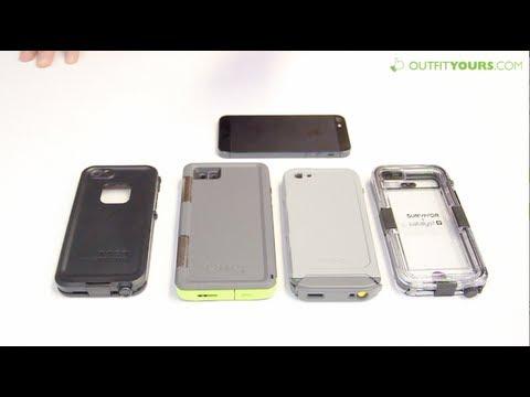 Top 4 Best Waterproof iPhone 5 & iPhone 5S Cases - Lifeproof, Otterbox, Incipio, Griffin
