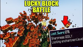 Lucky Block Battle ESKALLIERT | Minecraft Lucky Block Battle