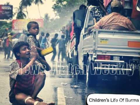 Children's Life Of Burma