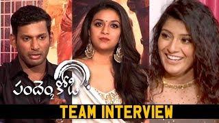 Pandem Kodi 2 Movie Team  Interview | Keerthy Suresh | Vishal | VaraLakshmi | Silly Monks Tollywood