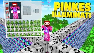 ROSA ILLUMINATI OP RÜSTUNG | LUCKY BLOCKS WALL