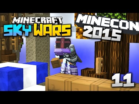 Minecon 2015 EINDRÜCKE + SkyWars INFO- Minecraft SKYWARS #11 l Let's Play Skywars