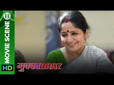 How to convince parents for love marriage? | Mukkabaaz | Vineet Singh & Zoya Hussain