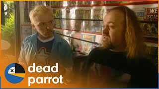 Chaos | Spaced | Series 1 Episode 5 | Dead Parrot