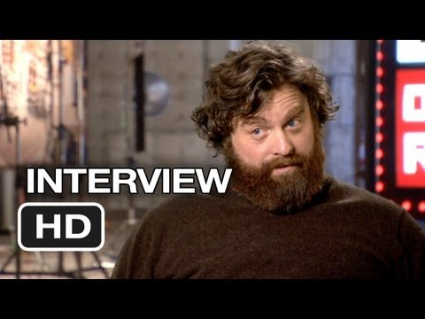 The Hangover Part III Interview - Zach Galifianakis (2013) - Bradley Cooper Movie HD