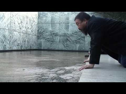 Ai WeiWei with Milk - Interviews