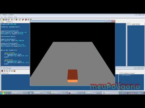 Video Aula: Blitz 3d - Criando jogo 3d em Terceira Pessoa