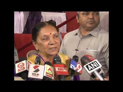 Media Byte - Gujarat CM on security high alert