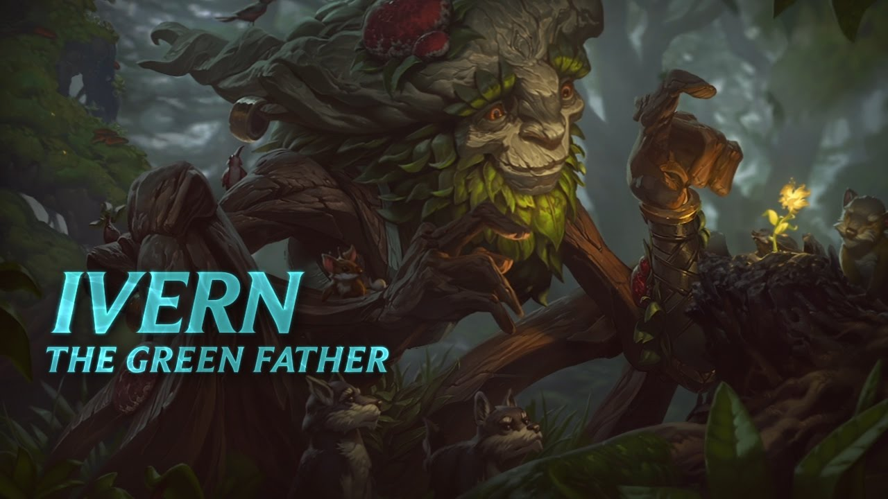 Ivern Champion Spotlight | Gameplay - League of Legends