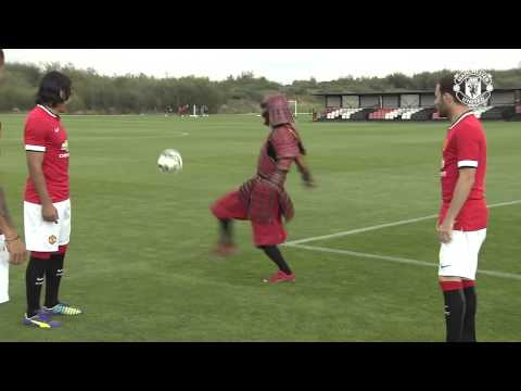 Red Samurai Challenges Falcao,  Rojo & Mata