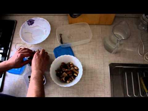 Как готовить сушеные грибы - видео