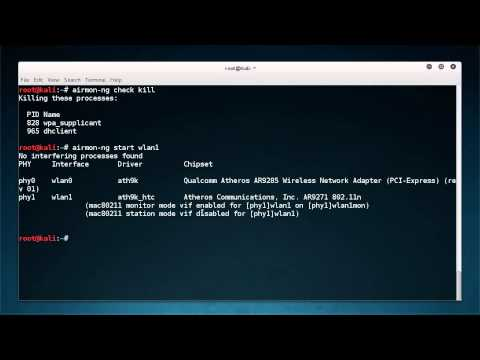 WiFi Wireless Security Tutorial - 6 - macchanger and Targeted Sniffing