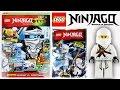 Журнал Лего Ниндзяго №7 2015   Magazine Lego Ninjago №7 2015 + Фигурка Зейн   Zane