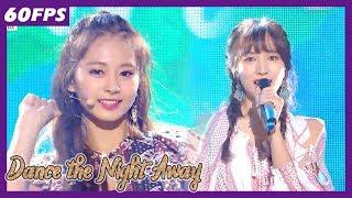 60FPS 1080P   TWICE - Dance the Night Away, 트와이스 - Dance the Night Away Show Music Core 20180721