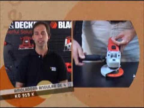 Herramientas para todos TV -Amoladora angular Black & Decker