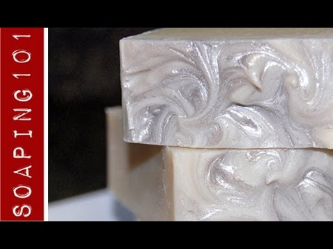 How to Make Castile Soap {100% pure olive oil) S2W4