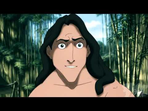 Tarzan X Jane || Animash Crossover || Un Senso Di Te video