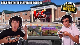 I 1v1'D THE BEST FORTNITE PLAYER IN MY SCHOOL! *CRAZY*