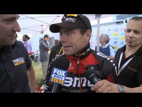 Cadel Evans 2011 Tour de France stage 4 wrap