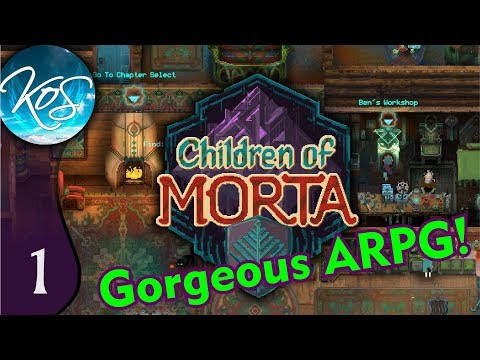 Children of Morta Ep 1: BLESSED BY THE GODDESS - ARPG Eye candy!!!  First Look - Let's Play