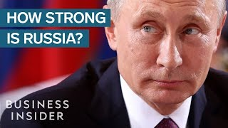 Russia May Not Be As Strong As You Think