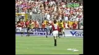 AS Roma - AC Parma 3-1 | 3° scudetto AS Roma | Full match 1° tempo 17/06/2001