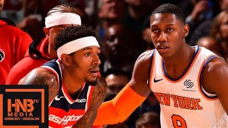 New York Knicks vs Washington Wizards - Full Game Highlights | October 11, 2019 NBA Preseason