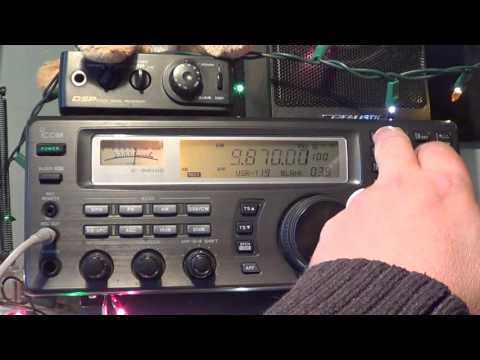 Saudi Arabia on 9870 Khz good signal on shortwave