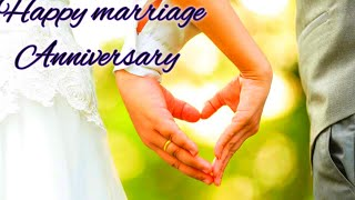 Happy marriage anniversary wishes what'sapp status/Happy anniversary to lovely couple