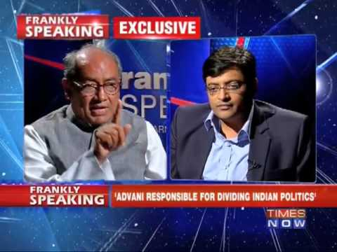Frankly Speaking with Digvijaya Singh(Full Episode)