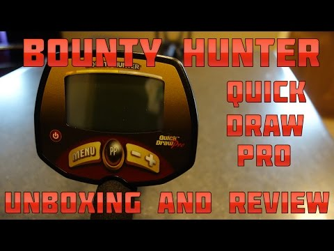 Metal Detecting:  Bounty Hunter Quick Draw Pro - Unboxing and Review