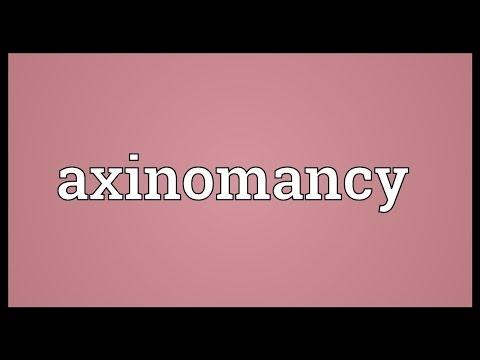 Header of axinomancy
