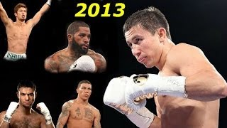 Gennady Golovkin \ 2013 \ 4 fights \ 4 боя