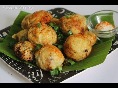 Prawn Paniyaram Recipe