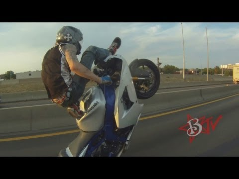 Middle Of The Map Ride 2013 - Motorbike Stunts Motorcycle Wheelies Street Bike Tricks Blox Starz TV