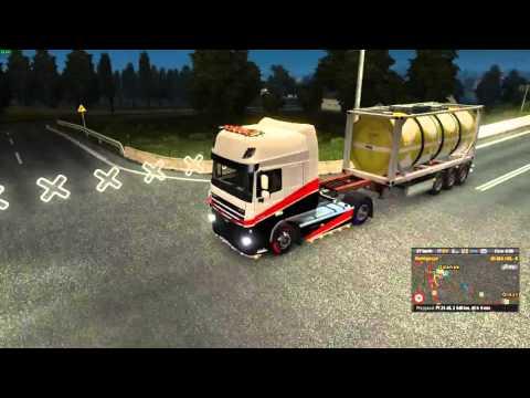 Euro Truck Simulator 2 Konwój Firmowy #2  1/5 W/MrBartass444 PrezesGaming HD