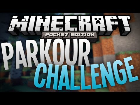 PARKOUR CHALLENGE Awesome Parkour Map Minecraft Pocket Edition