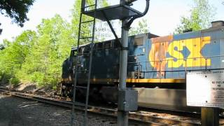 CSX, Freight train.....